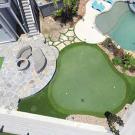 Arkansas Synthetic Putting Green Gallery